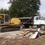 Site demolition, construction debris, disposal removal